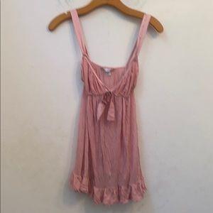 Victoria's Secret pink teddy